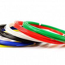 Расходные материалы для 3D печати - UNID Набор пластика для 3D ручек: PLA-6 (по 10м. 6 цветов в коробке), 0