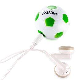 Цифровые плееры - MP3 плеер Perfeo Music Football + доп. Наушники, 0