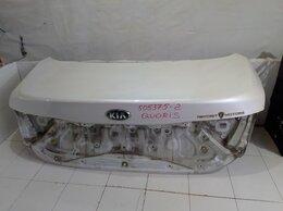 Кузовные запчасти - Крышка багажника идеальная белая (Kia Quoris), 0