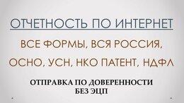Финансы, бухгалтерия и юриспруденция - Электронная отчетность без ЭЦП по доверенности, 0
