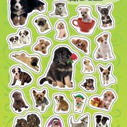 Скрапбукинг - 100 наклеек Собаки, 0