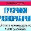 требуется ГРУЗЧИК на производство колбас - Грузчики, фото 1