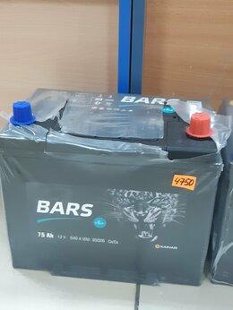 Аккумуляторы и комплектующие - Аккумулятор Bars 75Ah,640A, 0
