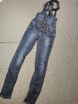 Комбинезоны - Комбинезон джинсовый , 0