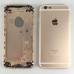 Корпусные детали - Корпус для Apple iPhone 6S золото, 0