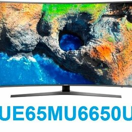 "Телевизоры - 65"" 4K LED Smart TV Samsung UE65MU6650U Curved, 0"