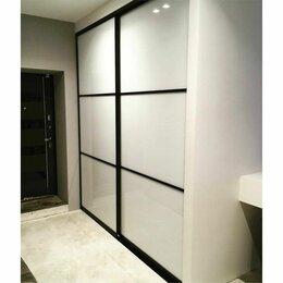 Шкафы, стенки, гарнитуры - Двери-купе. Белое стекло, 0