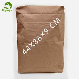 Пакеты - Мешок Клапанный (Закрытые) 44х38х9 см (бурый), 0