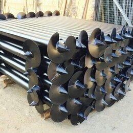 Железобетонные изделия - Винтовые сваи, свайно-винтовой фундамент D 76-102, 0