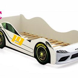 Кроватки - Кровать-машина Супра, белый, 0