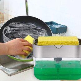 Мыльницы, стаканы и дозаторы - Дозатор для моющего средства и жидкого мыла, 0