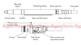 Плазменная резка - 228929 Hypertherm Комплект: MRT Сменный провод…, 0