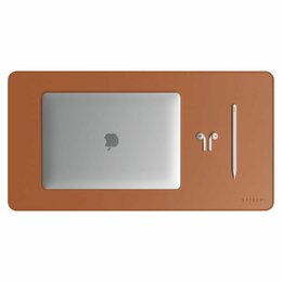 Коврики для мыши - Коврик Satechi Eco Leather Desk Mat (brown)…, 0