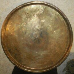 Посуда - Старинный трактирный поднос для самовара, 0