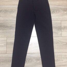 Брюки - Синие укорочённые женские брюки 42-44, 0