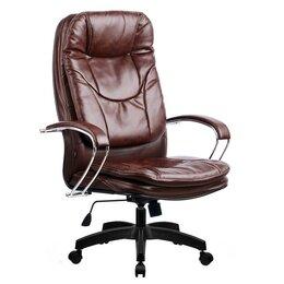 Компьютерные кресла - Кресло руководителя Metta LK-11 (Коричневый 723), 0