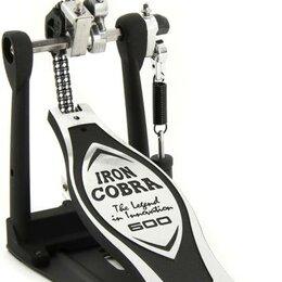 Аксессуары и комплектующие - Одиночная педаль для барабана TAMA HP600D IRON COBRA 600 DRUM PEDAL, 0