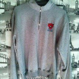 Толстовки - пуловер серый р.52-54 - состояние удовлетворительное (катешки), 0
