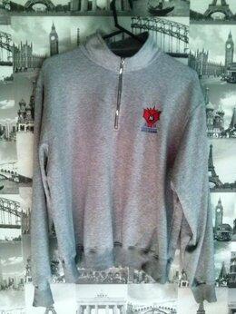 Толстовки - пуловер серый р.52-54 - состояние…, 0
