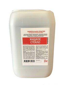 Изоляционные материалы - Жидкое стекло (натриевое)  8% ГОСТ канистра 15 кг, 0