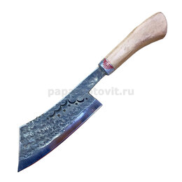 """Ножи кухонные - Топорик для мяса """"Ковка"""". Орех, гарда олово (21-22 см), 0"""