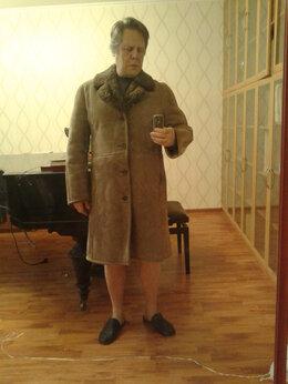 Дубленки и шубы - Дублёнка (пальто из дублёной овчины) мужская, 0