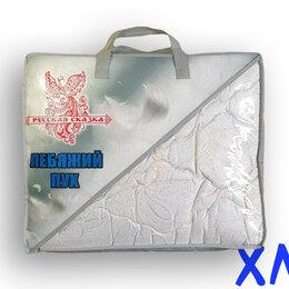 Одеяла - Одеяло всесезонное лебяжий пух 1,5сп тик Иваново, 0
