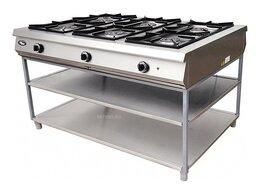 Промышленные плиты - Плита газовая Grill Master Ф6П2Г/1000, 0