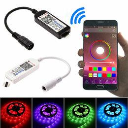 Светодиодные ленты - Светодиодная LED лента с управлением через Телефон, 0