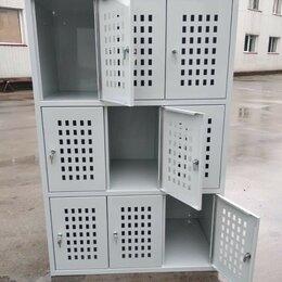 Мебель для учреждений - Шкаф для сумок металлический (камера хранения), 0