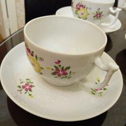 Кружки, блюдца и пары - Новый Чайный Кофейный Набор 8 пар, 0