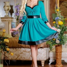Платья - Шикарное дизайнерское платье р. 44-46, 0