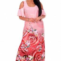 Платья - Платье вискозное Ницца (розовое), 0