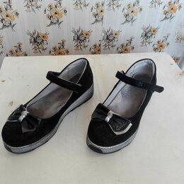 Балетки, туфли - Туфли с бантом для девочки - лето размер 38, , 0