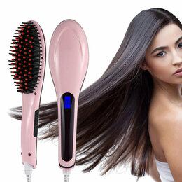 Щипцы, плойки и выпрямители - Расческа выпрямитель Fast Hair Straightener, 0