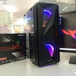 Настольные компьютеры - Ryzen 5 2400g 8 л.ядер 16Gb SSD120 HDD500 RX570 4G, 0