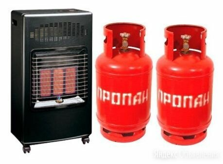 Газовый обогреватель для дачи Bartolini Pullover I + 2 газовых баллона 27 л по цене 15990₽ - Обогреватели, фото 0