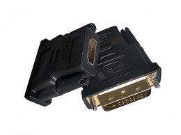 Компьютерные кабели, разъемы, переходники - Переходник с DVI-D на HDMI, 0