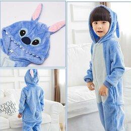Домашняя одежда - Пижама Кигуруми Стич Синий 160см, 0
