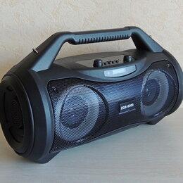 Акустические системы - Bluetooth система с FM-тюнером и караоке, 0