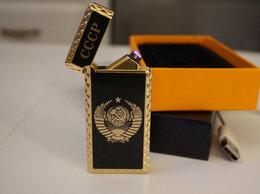 Пепельницы и зажигалки - Зажигалка USB Герб СССР, 0