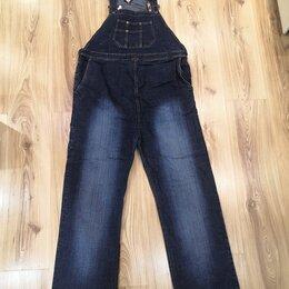 Комбинезоны - Комбинезон для беременных из плотной джинсовой ткани., 0