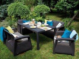 Комплекты садовой мебели - Комплект садовой мебели CORFU II FIESTA графитовый, 0