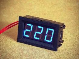 Измерительные инструменты и приборы - Цифровой вольтметр: высоковольтный, переменный ток, 0