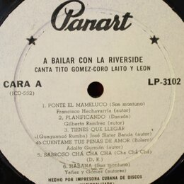 Виниловые пластинки - Orquesta Riverside – A Bailar Con La Riverside…, 0