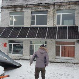 Солнечные батареи - Монтаж сетевой солнечной электростанции в дома ПМЖ, офис, 0