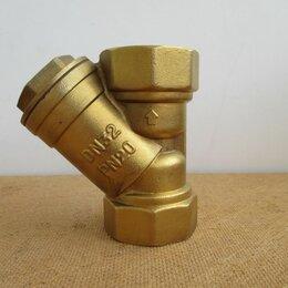 Фильтры для воды и комплектующие - Фильтр сетчатый латунный муфтовый  DN 32 /PN20, 0