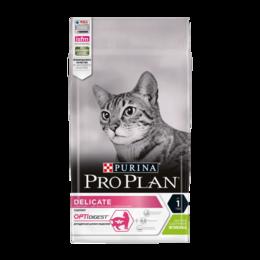 Корма  - Корм Purina Pro Plan Delicate для кошек с чувствит, 0