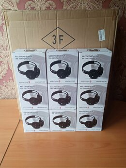 Наушники и Bluetooth-гарнитуры - Двухканальные ик-наушники polyvox EPD-220, 0