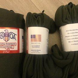 Носки - Носки 47-49 размер USOA Military Boot Socks Calf Length Anti-Microbial, 0